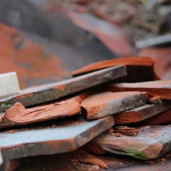 reclaimed roof tiles